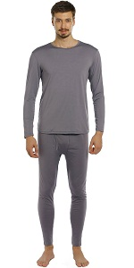thermal underwear for men grey