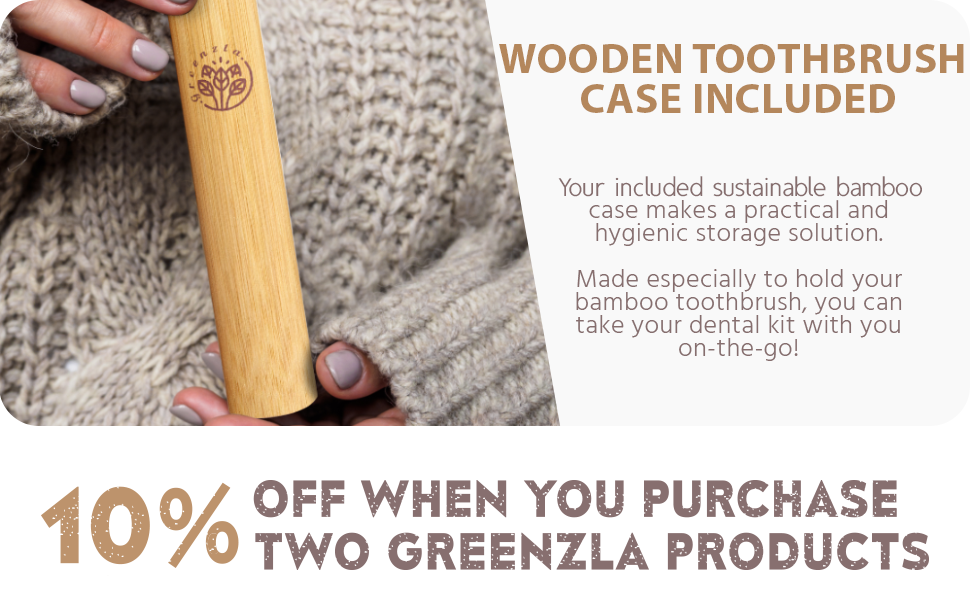 bamboo toothbrush cepillo de dientes Charcoal Biodegradable Green Wood zero waste eco toothbrushes