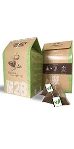 pure green coffee skinny detox plan weight loss