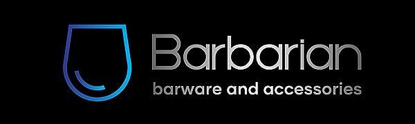 barbarian barware and accessories