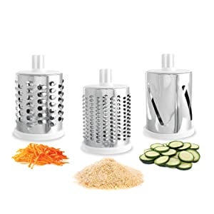 Kleva range, drum, Logo, Sumo Slicer, Vegetable Slicer, Food slicer, Mincer, Grater, Food Processor