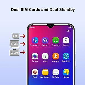 xgody a90 dual sim cards dual standby