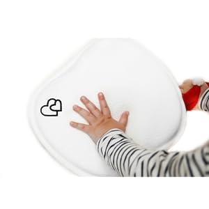 Almohada Bebe Plagiocefalia 100% Algodón Nuevo 2019 Cojin Antivuelco Bebe Antisoffoco Cojin Cabeza Bebe Almohada Infantil Memory Foam Color Blanco ...