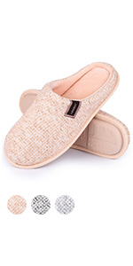 LongBay Women's Slippers