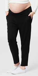 Cake Maternity Relaxed Soft Ponte Maternity Pant