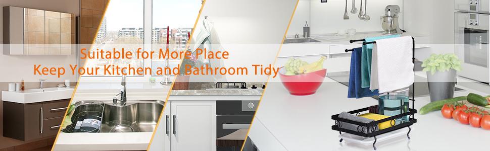 sink  sponge holder kitchen sink