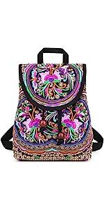 blue backpack for women
