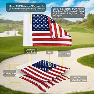 Kingtop golf flag