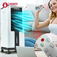 air cooler with remote