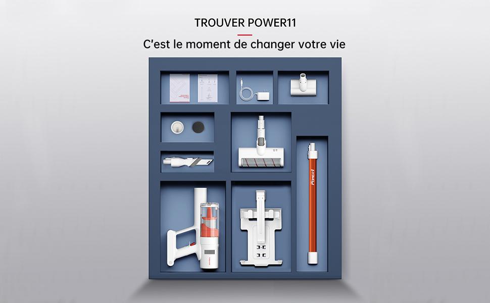 Power 11 tous les accessoires.