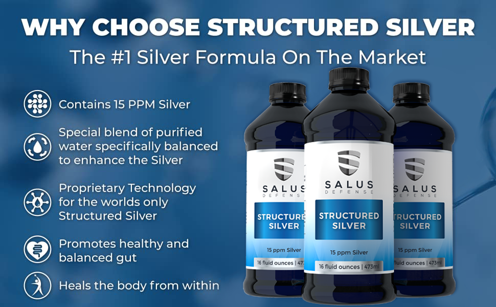 Structured Silver Gel is a quantum leap ahead of other forms of silver like hydrosol and colloidal