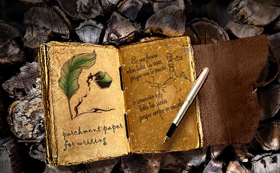 leather journal men calligraphy shadow traveler bound blank women writing vintage fountain pen paper