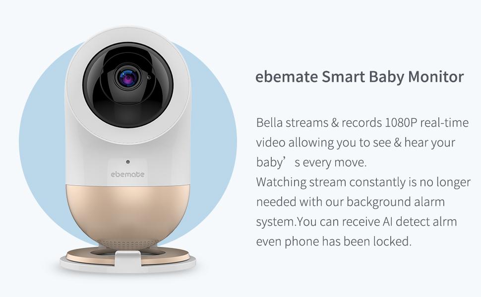 Monitor de Beb/é de Audio Digital Alarma de Seguridad de Alta Sensibilidad Para el Hogar//Monitor De Beb/é EU Sistema de Vigilancia de Intercomunicaci/ón de Ni/ñera Compatible Con Audio Bidireccional