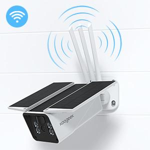 camara exterior wifi solar