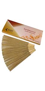 Sandalwood Natural Incense Sticks Low Burning