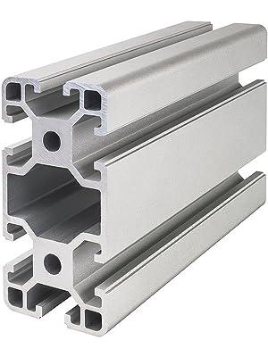 500mm Stück Aluminiumprofil 30x30 Nut 6 Alu Profil 6 Strebenprofil 3030