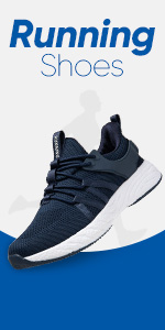 Cushion Sports Trainers Breathable Lightweight Sneakers for Walking Gym Jogging