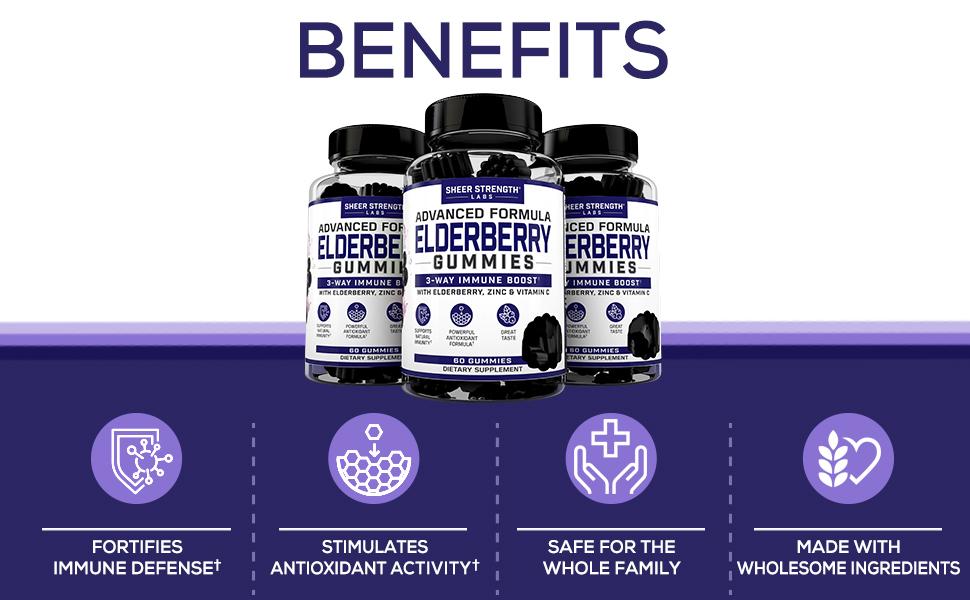 elderberry gummies elderberry supplement sambucus elderberry gummies