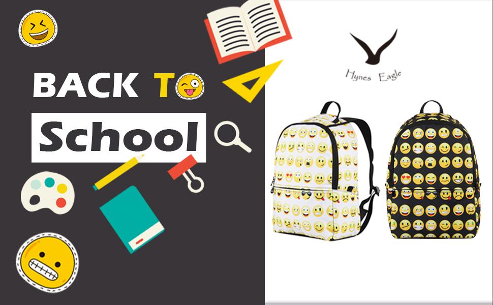 Patterned Hearts TM School Backpack