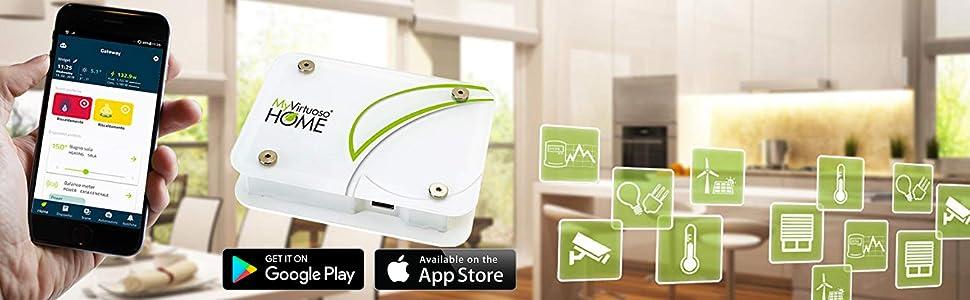 Banner MyVirtuoso Home sistema di domotica wireless con App