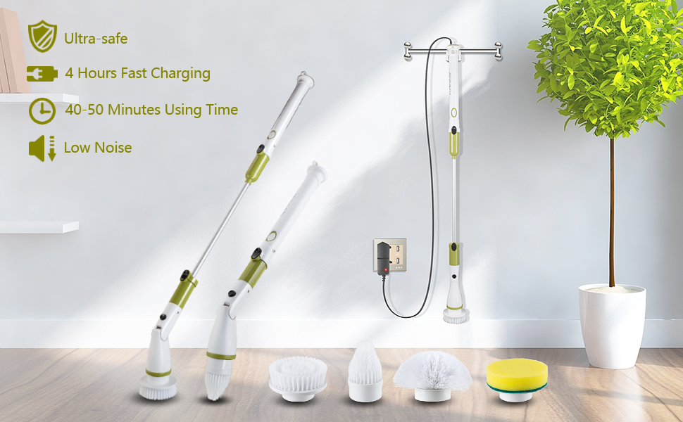 electric spin brush