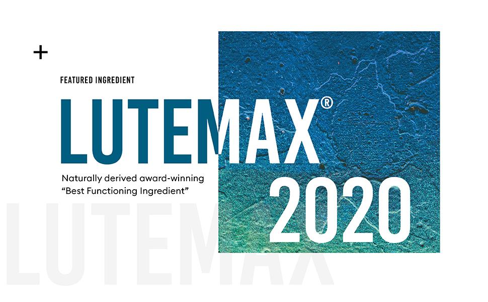 lutemax 2020 award-winning best functioning ingredient