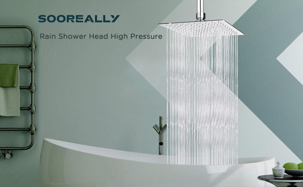 Rain Shower Head High Pressure