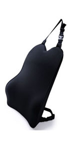 memory foam back cushion for car seat