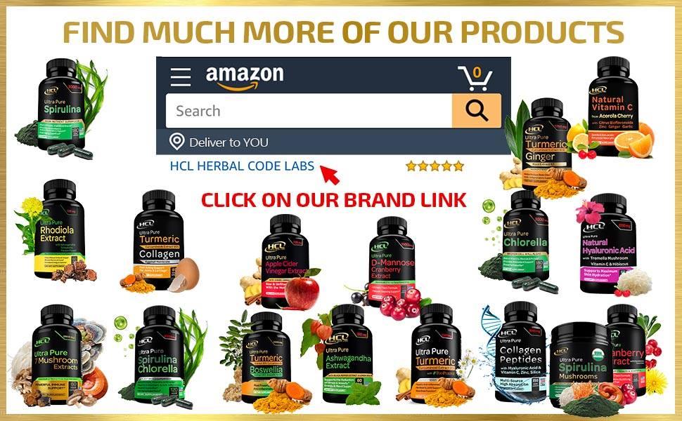 turmeric supplement curcumin extract pills boswellia capsules spirulina ginger herbal code labs hcl