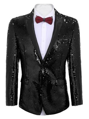 shiny blazer for men