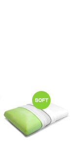 Certification Oeko TEX Oreiller Anti Ronflement 60x40cm - Soft ZenPur Oreiller Memoire Forme Cervicales Douloureuses Fabriqu/é en Europe Orthop/édique et Ergonomique