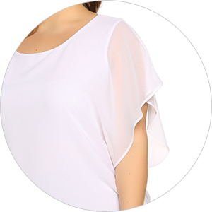 batwing sleeve