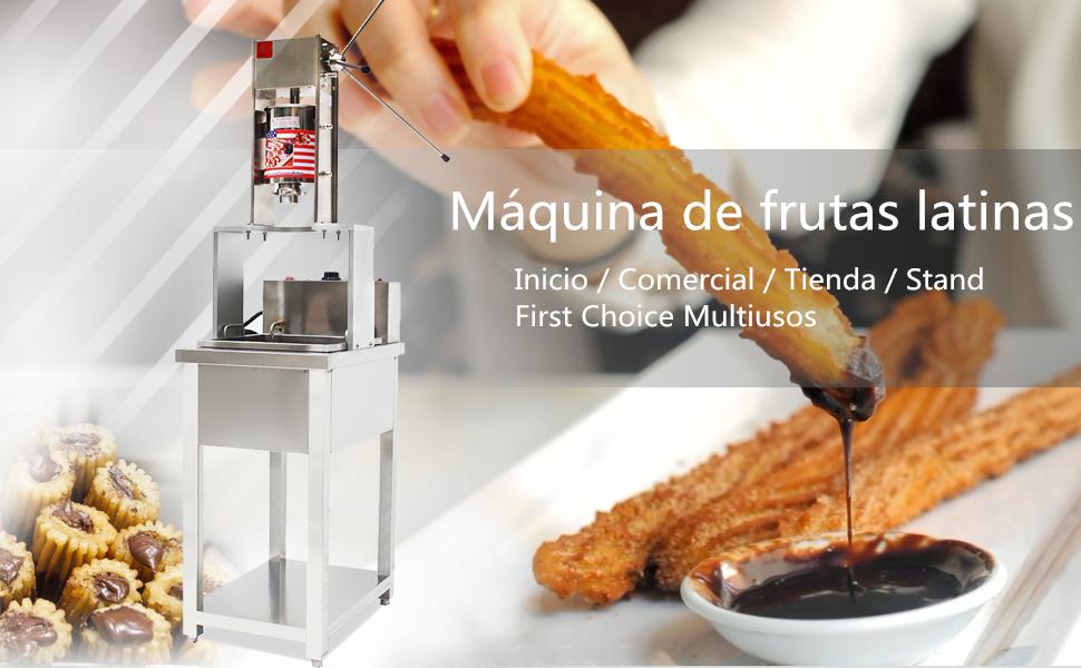 5L Manual español Churros Panificadora capacidad comercial Deluxe ...