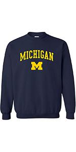 NCAA Arch Logo Adult Crewneck Sweatshirt