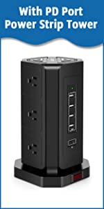 power strip multiple outlet