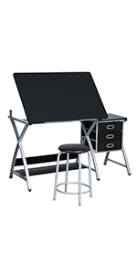 Drawing Desk w/Stool