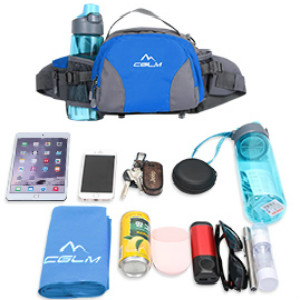 fanny pack for women men kids water bottle holder Multiple Compartments walking running waist bag