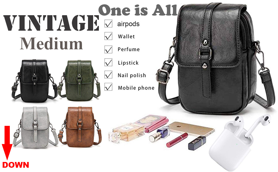 Small crossover bag for women