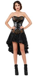 Overbust Corset Skirt Set