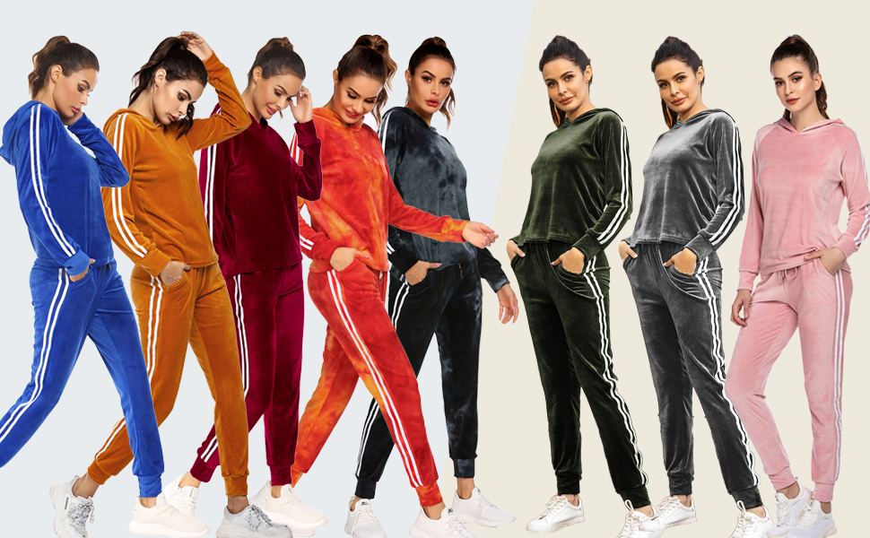 Hoodie & Sweatpants Jogging Suits Outfits