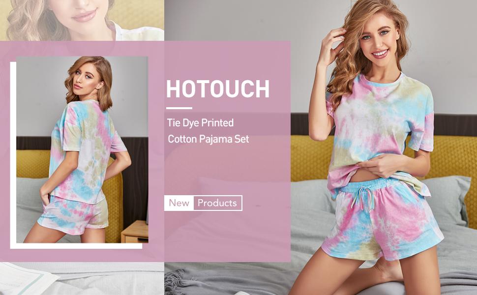 tie dye lounge sets for women