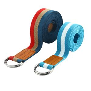 flexibilit/é et poses 1,8 m Fortitude Sports Sangle de yoga avec boucle en D pour /étirement