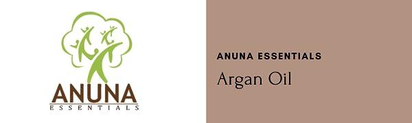 Anuna Essentials, essential oils, argan oil, 100% Pure Natural Oils, moroccoan argan oil