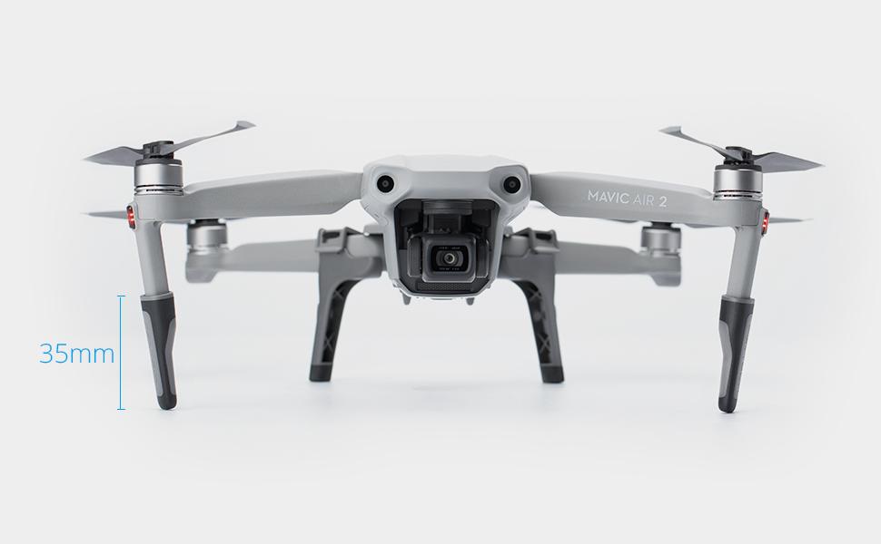 FIMI X8 SE Linghuang 2 unidades de soporte de h/élices para DJI Mavic Air 2 Mavic Mini 2 drones protecci/ón de transporte rojo Mavic Mini Mavic 2