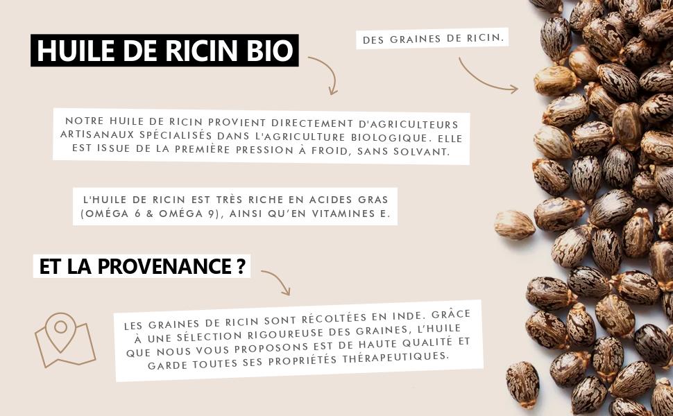 huile végétale ricin