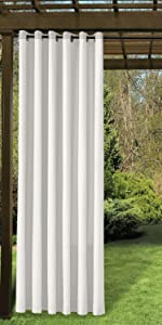 twopages outdoor grommet curtains