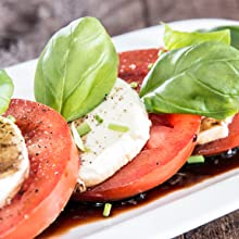 Balsamic with Caprese Salad