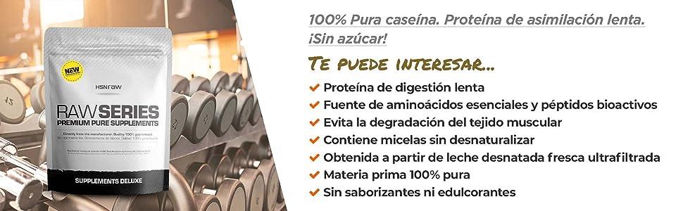 Caseína Micelar de HSN | Proteína de Lenta Digestión | Ideal ...