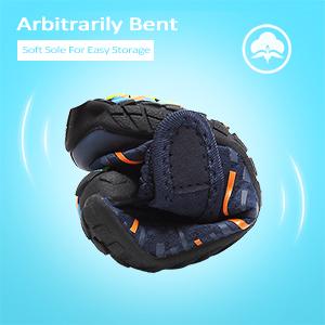 Boys amp; Girls Water Shoes Lightweight Comfort Sole Easy Walking Athletic Slip on Aqua Sock