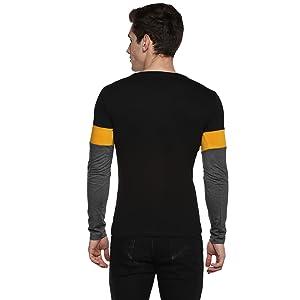 Mens tshirts casual;Mens tshirts latest;Men tshirt slim fit;Men tshirt round;full sleeve tshirt mens